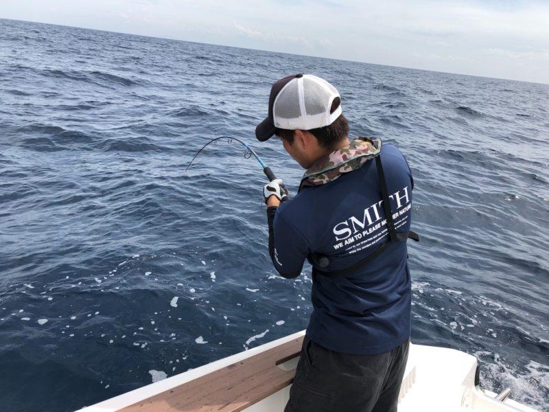 カツオ釣れるの!?長細いあの魚が参上!?玄界灘ジギング/キャスティング釣行in沖ノ島