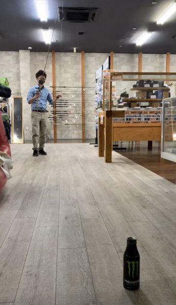 新人ゾエくんの一日 筑紫野店【ピッチング練習】